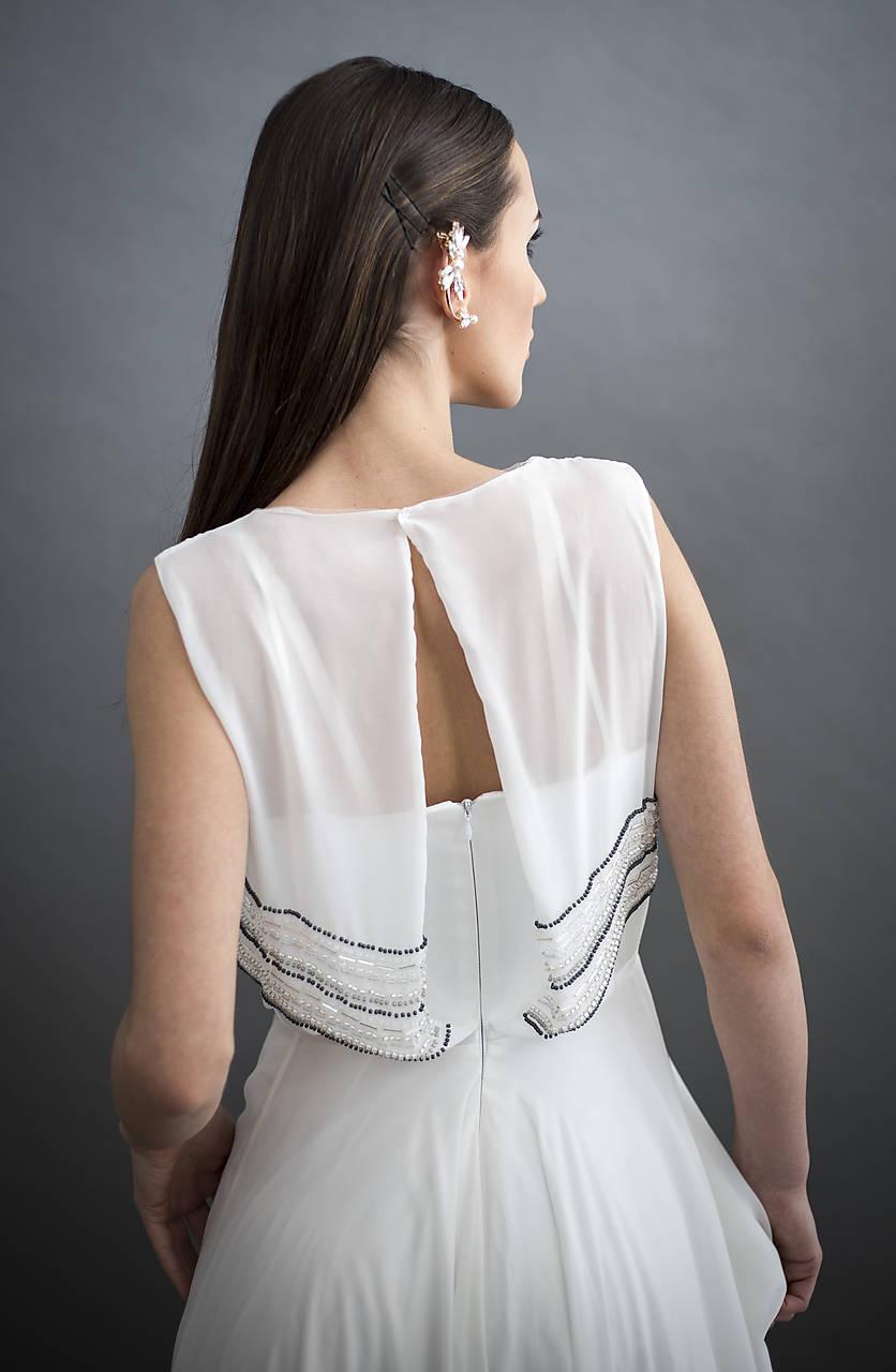 Korálikmi výšívané dlhé šaty   denise. - SAShE.sk - Handmade Šaty f7604318e80