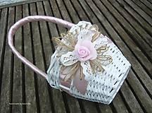 Dekorácie - košíček pre družičku - 8162478_