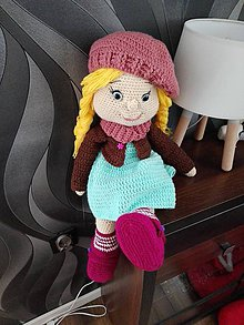 Hračky - Modrooká bábika Žofinka - 8163892_