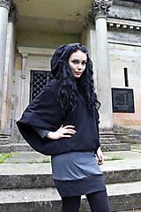 Šaty - Šaty FLEDERMAUS antracit - 8164169_