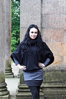 Šaty - Šaty FLEDERMAUS antracit - 8164171_