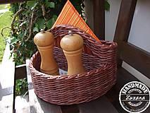 Košíky - Košík na koreničky 25x15x15 - 8163212_