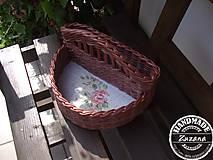 Košíky - Košík na koreničky 25x15x15 - 8163214_