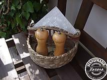 Košíky - Košík na koreničky 25x15x15 - 8163220_
