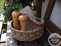 Košíky - Košík na koreničky 25x15x15 - 8163223_