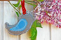 Detské doplnky - Vtáčik proti urieknutiu - 8164614_
