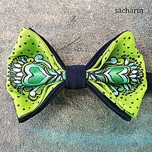 Doplnky - Lietam v tom- hodvábny maľovaný motýlik - 8164137_