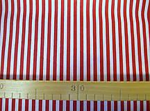 Textil - Bavlnená látka - kombinácia - vínová, bordo - 8163146_