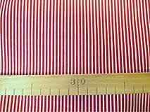 Textil - Bavlnená látka - kombinácia - vínová, bordo - 8163147_