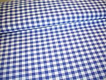 Textil - Bavlnená látka - kanafas - modrý - 8163307_