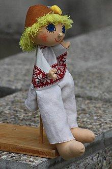 Hračky - Maňuška. Bábika Pastierik Ferko. - 8162783_