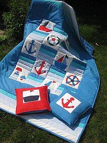 Úžitkový textil - v námorníckom štýle - 8163040_