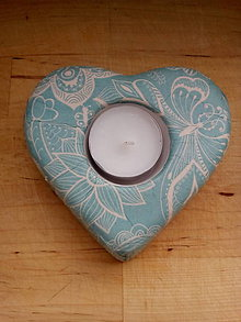 Svietidlá a sviečky - Svietnik na čajovú sviečku