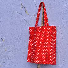 Nákupné tašky - Nákupná taška v tvare hranolu s vnútorným vreckom - 8164682_