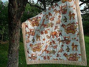Textil - Detská deka na hranie - 8166361_
