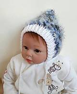 Detské čiapky - Chlpatí čepček - 8167387_