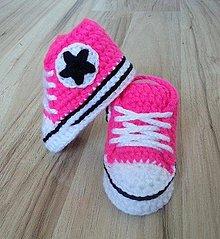 Topánočky - Ružové tenisky - 8167416_