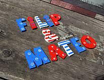 Tabuľky - drevené písmená - 8165870_