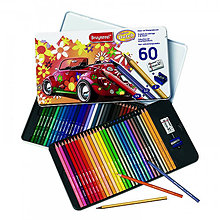 Iný materiál - Šesťhranné pastelky 60 ks. - 8165450_