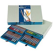 Farby-laky - Sada 48-farbičiek na dizajnové a akvarelové kreslenie - 8165618_