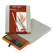 Farby-laky - Sada 12-farbičiek na dizajnové kreslenie - 8165626_