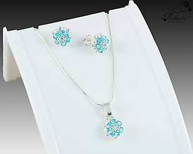 Sady šperkov - Facile Light Turquoise Set - 8167963_