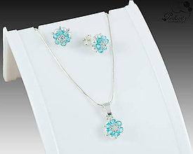 Sady šperkov - Facile Light Turquoise Set - 8167963_