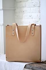 Veľké tašky - Taška SHOPPER BAG TALL NATURAL - 8167303_
