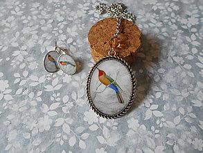 Sady šperkov - Vtáčia neha # 18 - 8165975_