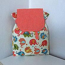 Detské tašky - Batôžtek sloníkový - 8165404_