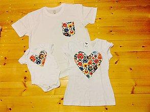 Tričká - Rodina tričká Ľudovka - 8166358_