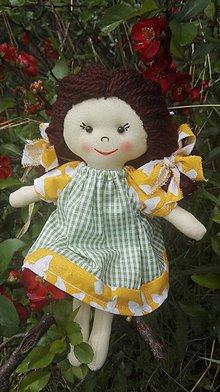 Hračky - Handrová bábika Zuzanka - 8167752_