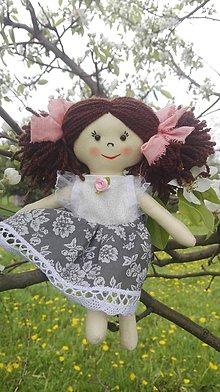 Hračky - Handrová bábika Anička - 8167879_