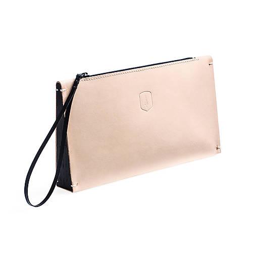 Kabelky - Kožená listová kabelka Vespa Clutch  - 8169391_
