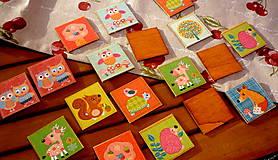 Hračky - drevené pexeso - sovičky - 8170238_