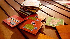Hračky - drevené pexeso - sovičky - 8170239_