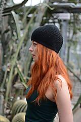 Čierná čiapka