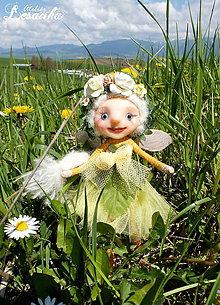 Dekorácie - ♥ Kvetinková víla Drahuša ♥ - 8168604_