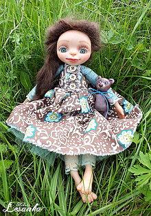 Bábiky - ♥ Autorská bábika ALŽBETKA ♥ - 8169526_