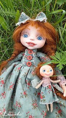 Bábiky - ♥ Autorská bábika AGÁTKA ♥ - 8169579_