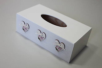 Krabičky - HM - Krabička na papierové vreckovky - podstava obdĺžnik - 8168836_