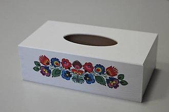 Krabičky - Krabička na papierové vreckovky - podstava obdĺžnik - 8168843_