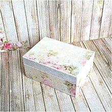 Krabičky - Krabička na prstienky - 8168862_