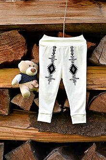 Detské oblečenie - Detské folklórne nohavice \