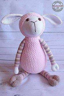 Hračky - Nežná ovečka pre bábätko - 8168718_