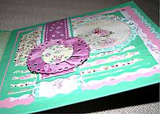 Papiernictvo - Romantický shabby chic fotoalbum pre dieťa - 8170822_