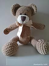 - Medvedík s výškou 40cm - 8170618_