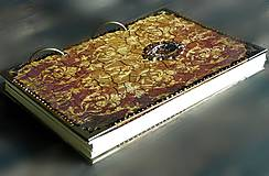 Vintage rustikálny dámsky i pánsky zápisník/ diár/denník/posledný kus