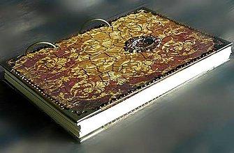 Papiernictvo - Vintage rustikálny dámsky i pánsky zápisník/ diár/denník/posledný kus - 8170220_