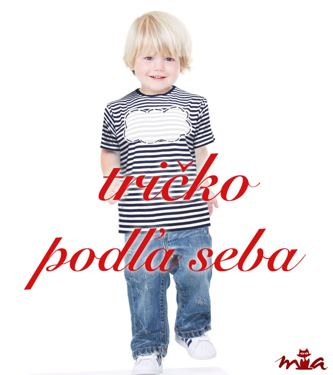 1202695bab8 Detské námornícke tričko s vlastným nápisom   miriammiklasova ...